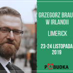 Grzegorz Braun w Irlandii