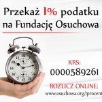 Wesprzyj nas – przekaż 1% podatku na Fundację Osuchowa